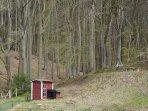 Schwedenhütte und Aussichtsplatz