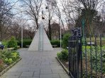 Merrion Square Entrance is a two minute walk