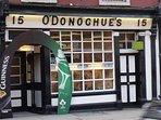 Famous Dublin Pub Seven min stroll