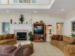 Nice, Big and Cozy living room area