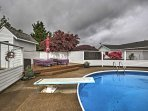 Enjoy lounging poolside from the privacy of your McMinnville vacation rental home!