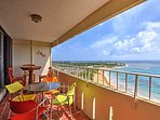 Gather your loved ones for a relaxing escape to Puerto Rico and stay in this 14th floor studio in Luquillo.
