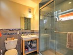 Enjoy the privacy of 2 full bathrooms