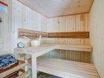 4 Person Real Steam Sauna