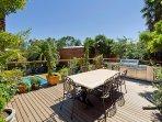 Corvah House - sun deck