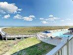 Boardwalk / Swimming Pool