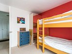 Bunk Beds, Wardrobe, drawers and bedside cabinet