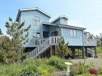 Less than a block to the beach! Large deck with ocean views