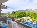 Stunning views from the Villa's balconies!
