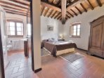 One of the 9 bedrooms inside the Villa