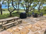 Huge new patio has a gorgeous view over Boat Meadow Marsh