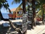 Beach bars and restaurants