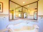Jacuzzi bath tub - master bath
