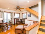 Studio/sitting room on upper level