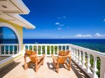 Enjoy the sea views from the Master Suite private patio.