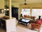 2 Br Garden View Living Room