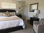Master Bedroom: CA King
