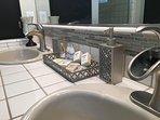 Master bathroom Guest Toiletries