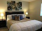 Downstairs Bedroom #2: CA King Bed