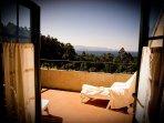 Terraza Solarium. Vistas a Cabo Home y Cies