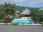 Villa Surgawi, a villa direct on the beach in Bali