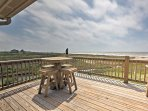 A beachfront Gulf of Mexico getaway awaits you at  'Pelican Bluff,' a 3-bedroom vacation rental house on Bolivar...