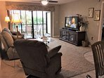 Large flatscreen HDTV with DVD, & Stereo!  FREE WiFi in condo!