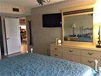 Large flatscreen HDTV in master bedroom-Free WiFi, as well!