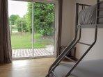 Chambre 3 (1 lit double de 140cm et 1 lit superposé de 90cm)