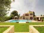 Wow....fab villa on a huge plot!