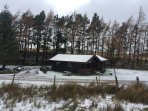 Exceptional value Winter breaks just for you, perfect & cosy real log cabins, whatever the weather