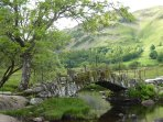 The cute little Slaters Bridge, Little Langdale