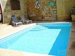 GUNO holiday house swimming pool measuring 7 meters by 3 meters