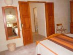 Other side of DUN NASTAS holiday house double bedroom
