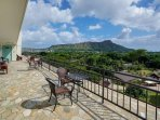 Diamond Head from Roof Top Deck