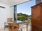 Full sliding window to enjoy ocean breeze