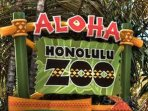Honolulu Zoo is just 10 mins walk.