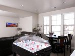 Family room game area