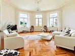 Living room Views of Prague castle sofa bed 120x 200