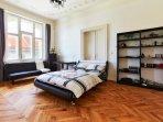 Bedroom 3 double bed 140x200 single sofa bed 120x200