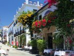 The beautiful old town of Marbella 3 klm from us