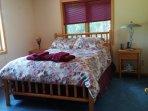 1st floor guest bed-room with queen bed