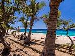 La plage 'branchée' du Boucan