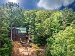 Two acres secluded into the mountain top with end of the road privacy