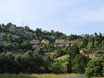 Colli di Bergamo dalla via parallela