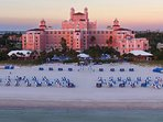 Historic, 1920s Don Cesar Hotel on St. Pete Beach
