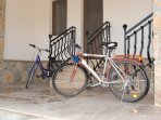 Two bicycles in every villa. One for ladies and one for gentlemen. Children's seats available.