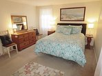 Bedroom 1 with New Queen Bed--13 Marlin Road South Harwich Cape Cod New England Vacation Rentals