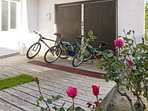 you can rent bicycles in the Stobrec for your trip by the sea, river and mountains.