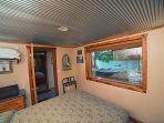 One of the two bedrooms with awesome lake views. Queen beds